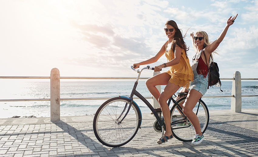 De vanligaste cykeltyperna